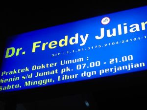 Praktek dr. Freddy Julianto